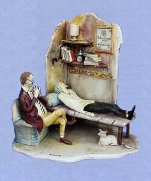 Lo Scricciolo-Keramikfiguren